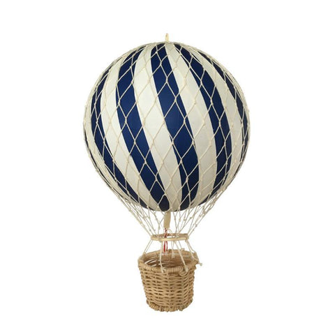 Filibabba Navy Hot Air Balloon, , Filibabba, nursery, kids, babies, presents, gifts - Home & Me
