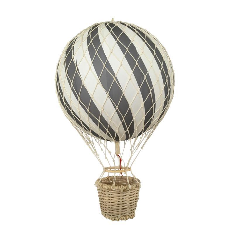 Filibabba Grey Hot Air Balloon, , Filibabba, nursery, kids, babies, presents, gifts - Home & Me