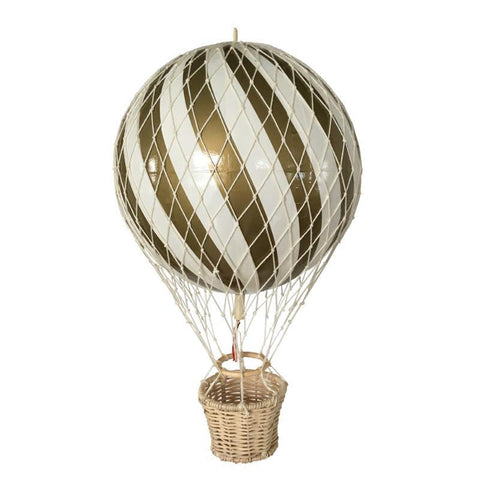 Filibabba Gold Air Balloon, , Filibabba, nursery, kids, babies, presents, gifts - Home & Me
