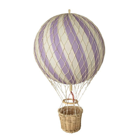 Filibabba Lavender Hot Air Balloon, , Filibabba, nursery, kids, babies, presents, gifts - Home & Me
