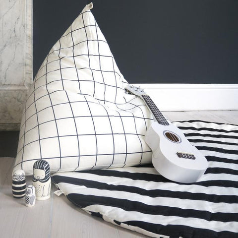 Wildfire Teepee Grid Pyramid Bean Bag