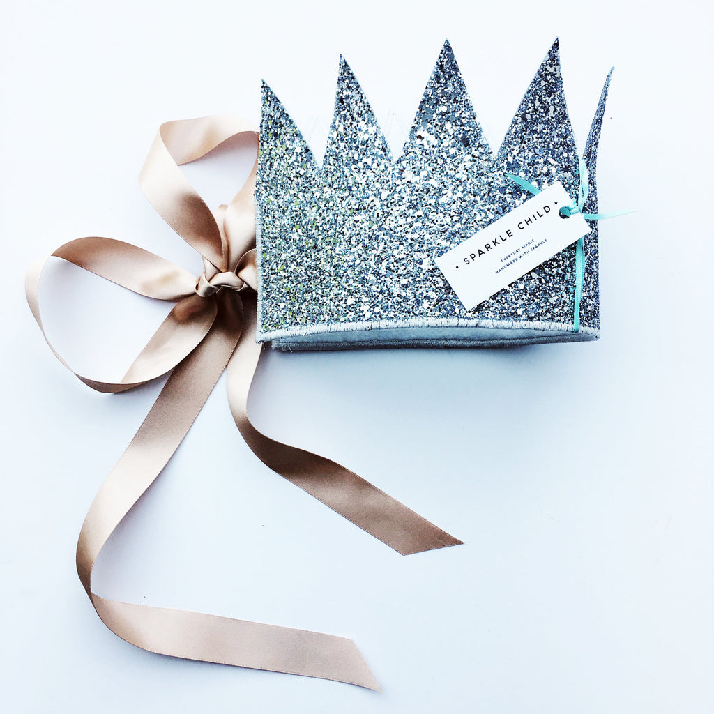 Sparkle Child - Crown (Silver), , Sparkle Child, nursery, kids, babies, presents, gifts - Home & Me