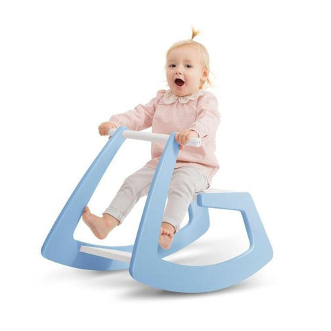 Jupiduu Blue Rocking Horse, Slide, Jupiduu, nursery, kids, babies, presents, gifts - Home & Me