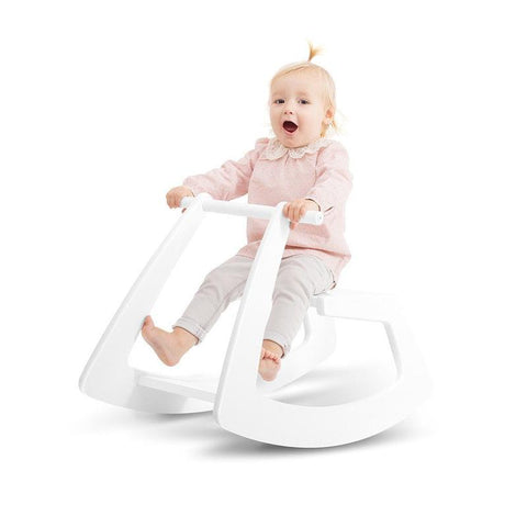Jupiduu White Rocking Horse, Slide, Jupiduu, nursery, kids, babies, presents, gifts - Home & Me