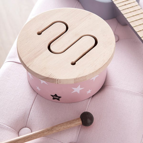 Kids Concept - Drum mini pink, Wooden Toys, Kids Concept, nursery, kids, babies, presents, gifts - Home & Me