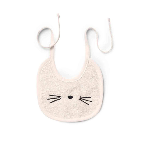 Liewood Cat Pink Bib (2 Pack), Bib, Liewood, nursery, kids, babies, presents, gifts - Home & Me