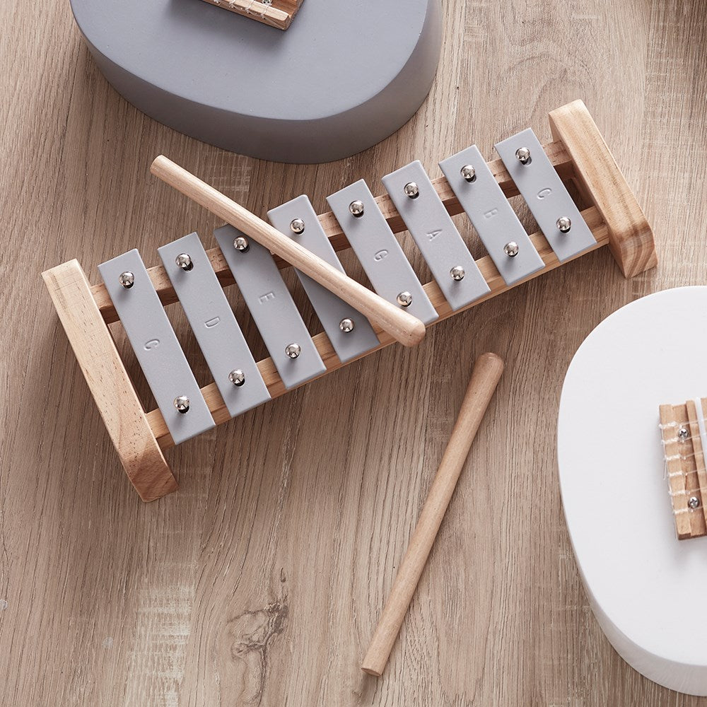 Kids Concept - Xylophone Grey, Wooden Toys, Kids Concept, nursery, kids, babies, presents, gifts - Home & Me