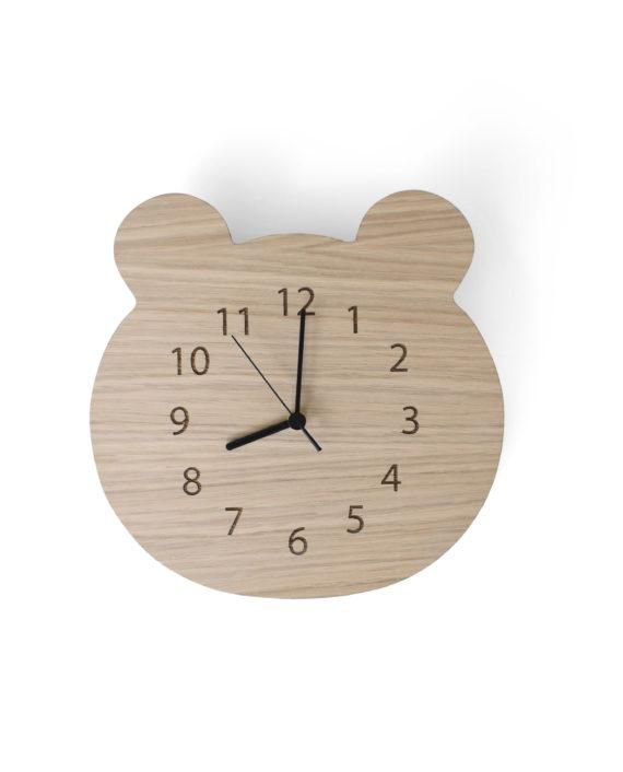 Mase Living Bear Clock, Clocks, Mase Living, nursery, kids, babies, presents, gifts - Home & Me