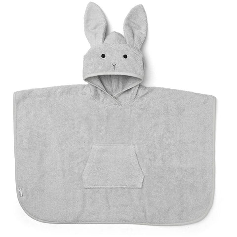 Liewood Grey Rabbit Poncho