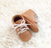 Little Lambo Tan Lace-up Moccasin Little Lambo, Shoes, Little Lambo, nursery, kids, babies, presents, gifts - Home & Me