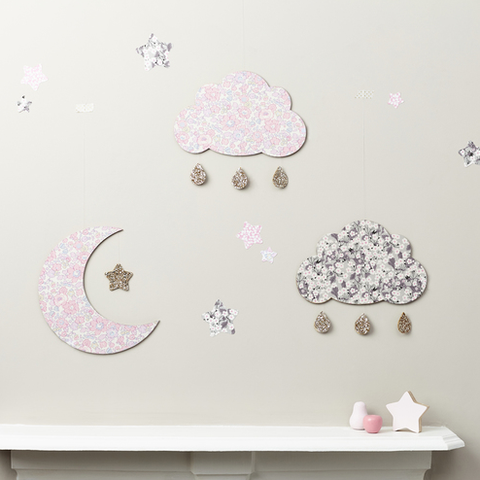 Cloud Mitsi Wall Hanging, Wall Decor, Little Cloud, nursery, kids, babies, presents, gifts - Home & Me