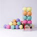 Cotton Ball Lights Ice Cream Cotton Ball Lights, Lighting, Cotton Ball Lights, nursery, kids, babies, presents, gifts - Home & Me