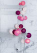 Cotton Ball Lights Strawberry & Cream Cotton Ball Lights, Lighting, Cotton Ball Lights, nursery, kids, babies, presents, gifts - Home & Me