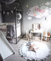 The Wallpaper Company Sleepy Moon Pink Wall Sticker, Wall Stickers, The Wallsticker Company, nursery, kids, babies, presents, gifts - Home & Me