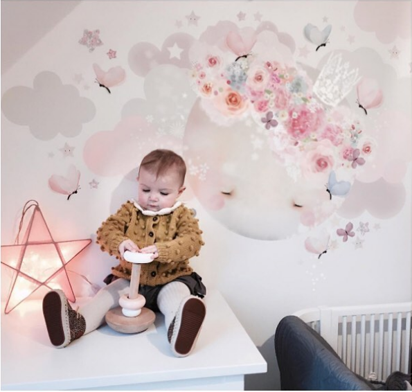 the wall sticker company moon & star stickers for bedroom or nursery