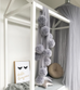 Spinkie Grey Pom Pom Garland, Wall Decor, Spinkie, nursery, kids, babies, presents, gifts - Home & Me