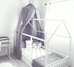 Spinkie Light Grey Dreamy Canopy with Silver Crown, Canopy, Spinkie, nursery, kids, babies, presents, gifts - Home & Me