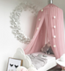 Spinkie Blush Pink Dreamy Canopy with Silver Crown, Canopy, Spinkie, nursery, kids, babies, presents, gifts - Home & Me