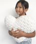 Spinkie Ivory Heart Cushion, Soft Furnishing, Spinkie, nursery, kids, babies, presents, gifts - Home & Me