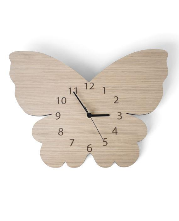 Mase Living Butterfly Clock, Clocks, Mase Living, nursery, kids, babies, presents, gifts - Home & Me