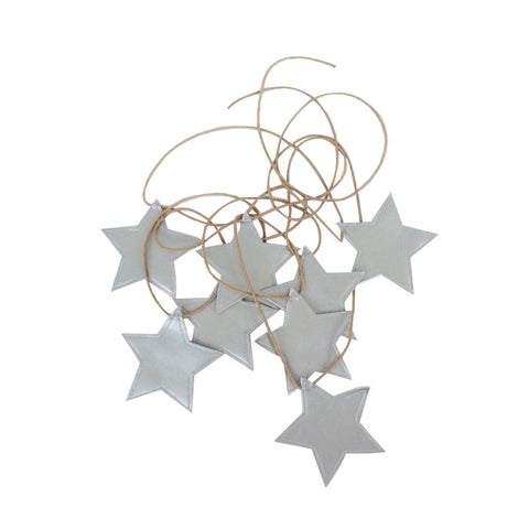 Spinkie Silver Star Bunting Garland, Wall Decor, Spinkie, nursery, kids, babies, presents, gifts - Home & Me
