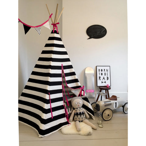 Wildfire Teepee Pink Stripe Teepee, Playtime, Wildfire Teepee, nursery, kids, babies, presents, gifts - Home & Me