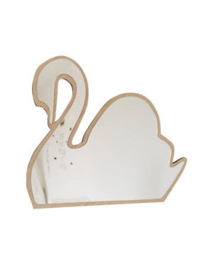 Mase Living Swan Mirror, Mirror, Mase Living, nursery, kids, babies, presents, gifts - Home & Me