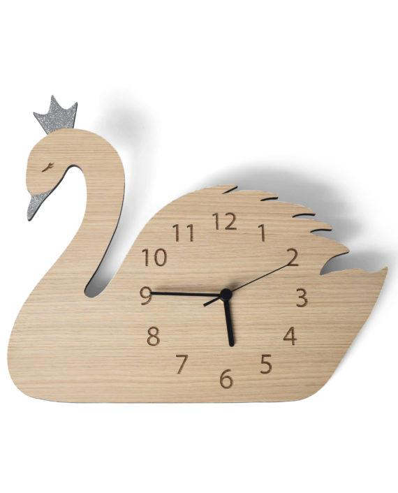 Mase Living Swan Clock, Clocks, Mase Living, nursery, kids, babies, presents, gifts - Home & Me