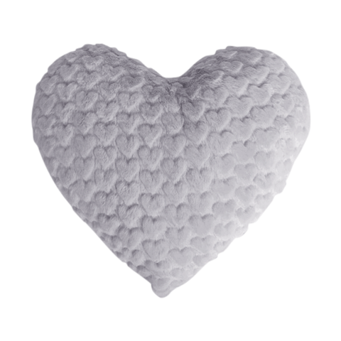 Spinkie Grey Heart Cushion, Soft Furnishing, Spinkie, nursery, kids, babies, presents, gifts - Home & Me
