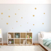 PÖM le Bonhomme Gold Star Wall Stickers, Wall Decor, PÖM le Bonhomme, nursery, kids, babies, presents, gifts - Home & Me