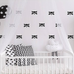 Black Racoon Animal Wall Stickers for Bedroom Nursery child's baby's room Playroom Easy Peal