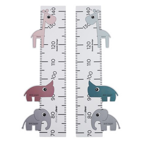 Height Chart, Wall Decor, done by deer, nursery, kids, babies, presents, gifts - Home & Me