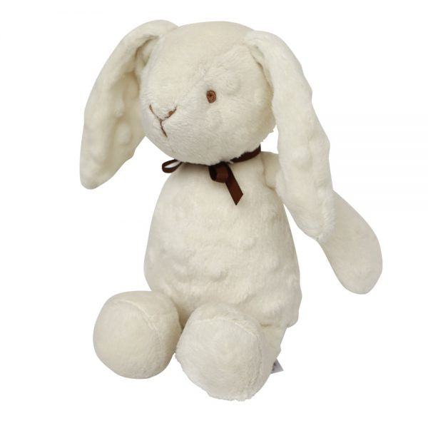 Spinkie White Cuddle Rabbit Teddy, Playtime, Spinkie, nursery, kids, babies, presents, gifts - Home & Me