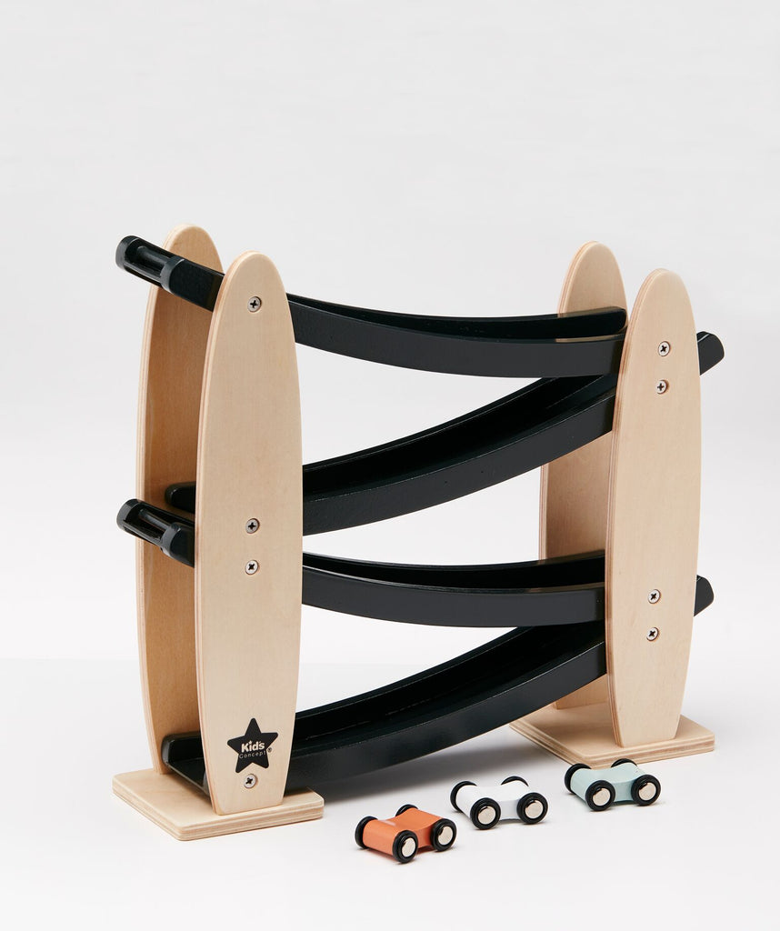 Kids Concept - Car Track Black, Wooden Toys, Kids Concept, nursery, kids, babies, presents, gifts - Home & Me