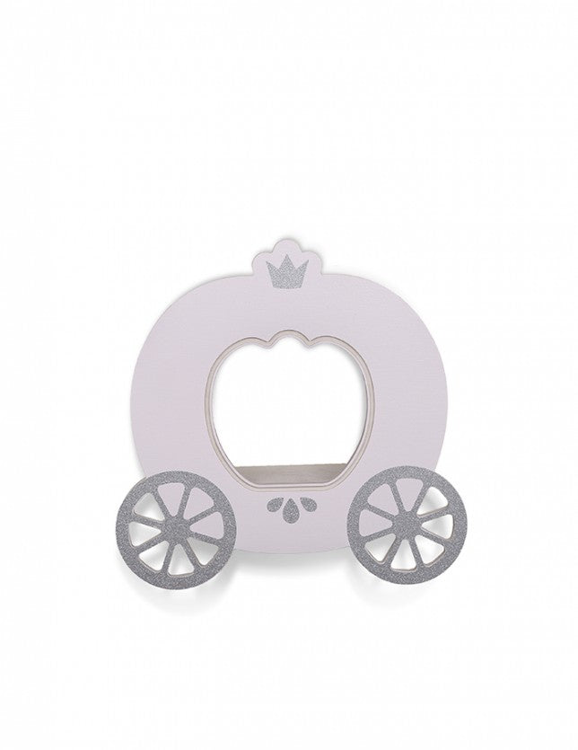 That's Mine Pink Cinderella Carriage Wall Shelf, Furnishing, That's Mine, nursery, kids, babies, presents, gifts - Home & Me
