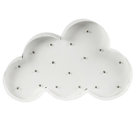 Sass & Belle Cloud LED Night Light Lamp, Lighting, Sass & Belle, nursery, kids, babies, presents, gifts - Home & Me