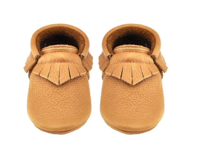 Little Lambo Tan Fringe Moccasin Little Lambo, Shoes, Little Lambo, nursery, kids, babies, presents, gifts - Home & Me