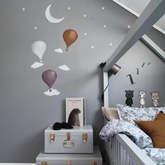Stickstay Dusty Lilac Balloon Wall Stickers, Wall Decor, Stickstay, nursery, kids, babies, presents, gifts - Home & Me