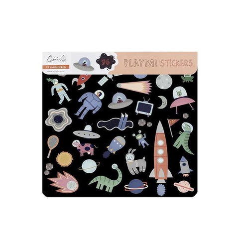 Olli Ella Playpa Sticker - Space, , Olli Ella, nursery, kids, babies, presents, gifts - Home & Me