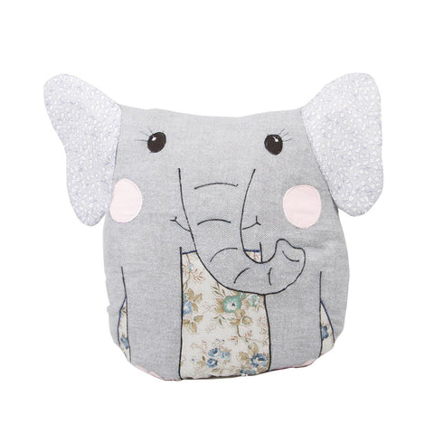 Sass & Belle Elephant Cushion Cover, Soft Furnishing, Sass & Belle, nursery, kids, babies, presents, gifts - Home & Me