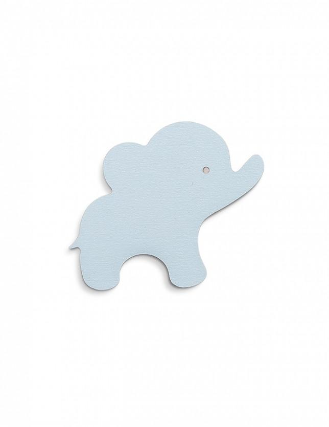 That's Mine Blue Elephant Wall Hook, Furnishing, That's Mine, nursery, kids, babies, presents, gifts - Home & Me
