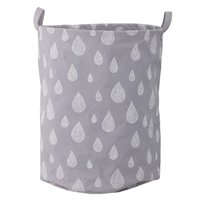 Bloomingville Grey Storage Basket, , Bloomingville Mini, nursery, kids, babies, presents, gifts - Home & Me