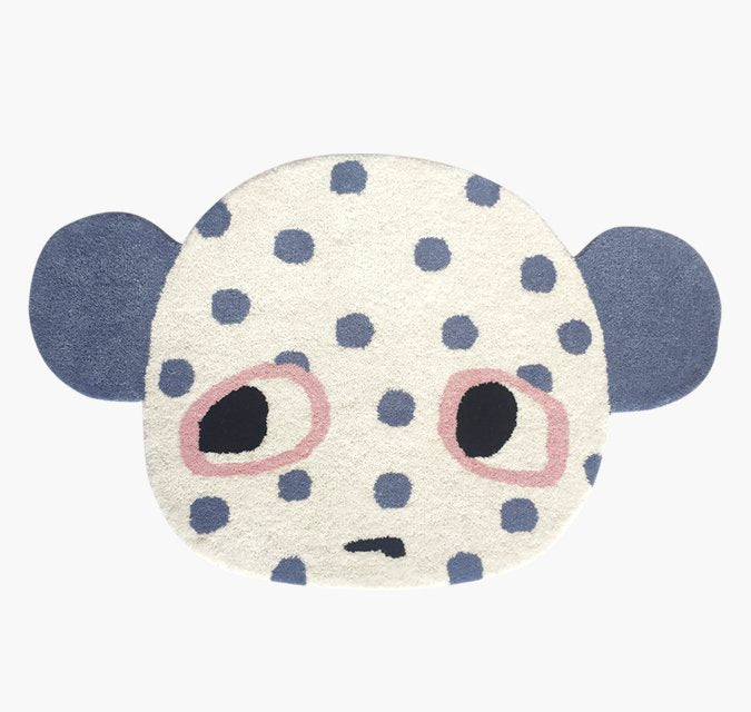 Lucky Boy Sunday Gorby Rug, Soft Furnishing, Lucky Boy Sunday, nursery, kids, babies, presents, gifts - Home & Me