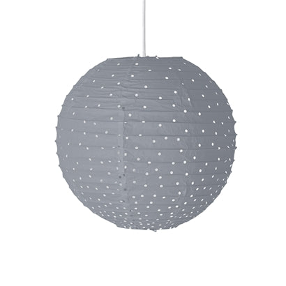 Bloomingville Grey Pendant Lamp, , Bloomingville Mini, nursery, kids, babies, presents, gifts - Home & Me