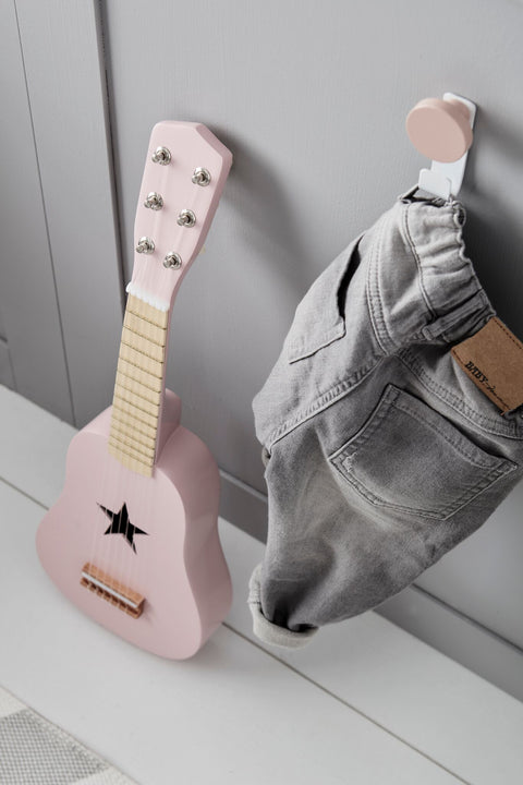 Kids Concept - Guitar Pink, Wooden Toys, Kids Concept, nursery, kids, babies, presents, gifts - Home & Me