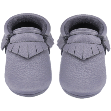 Little Lambo Blue-Grey Fringe Moccasin Little Lambo, Shoes, Little Lambo, nursery, kids, babies, presents, gifts - Home & Me