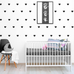 PÖM le Bonhomme Black Heart Wall Stickers, Wall Stickers, PÖM le Bonhomme, nursery, kids, babies, presents, gifts - Home & Me