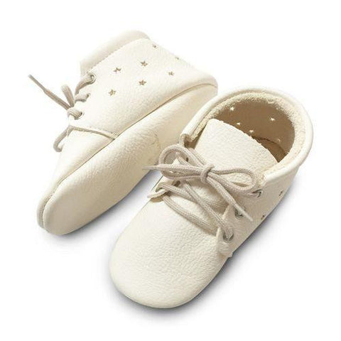 Little Lambo White Star Booties Little Lambo, Shoes, Little Lambo, nursery, kids, babies, presents, gifts - Home & Me