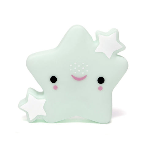 Petit Monkey Star night -Mint, Lighting, Petit Monkey, nursery, kids, babies, presents, gifts - Home & Me