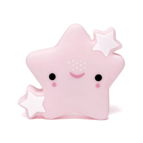 Petit Monkey Star night -Pink, Lighting, Petit Monkey, nursery, kids, babies, presents, gifts - Home & Me